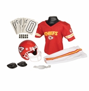 Youth Football Uniform and Helmet Set by Franklin<br><b> Kansas City Chiefs</b>