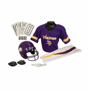 Youth Football Uniform and Helmet Set by Franklin<br><b> Minnesota Vikings </b>