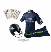 Youth Football Uniform and Helmet Set by Franklin<br><b> Seattle Seahawks </b>