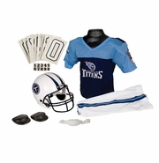 Youth Football Uniform and Helmet Set by Franklin<br><b> Tennessee Titans </b>