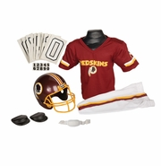 Youth Football Uniform and Helmet Set by Franklin<br><b> Washington Redskins </b>