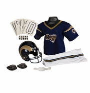 Youth Football Uniform &Helmet Set by Franklin<br><b>Saint Louis Rams </b>