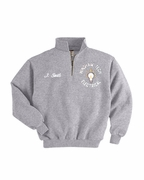 1/4 Zip Sweatshirt J4528 Grey