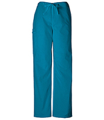 CHE 4100 Unisex Drawstring Cargo Pant Carribbean Blue