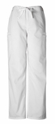 Cherokee - 4000 Men's Pull-On Cargo Pant White