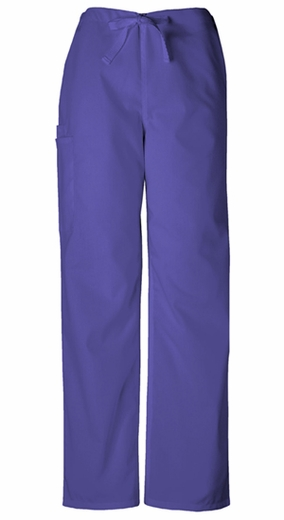 Cherokee 4100 Unisex Drawstring Cargo Pant - Grape
