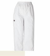 Cherokee 4200 - Women's Pull-On Cargo Pant White