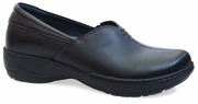 Dansko Abigail Black Milled Full Grain