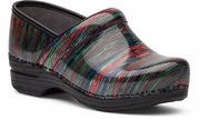 DANSKO Pro XP Multi Striped Patent - SLIP RESISTANT