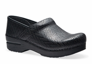 DANSKO Professional Black Woven Leather