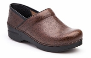 DANSKO Professional Brown Floral Embossed
