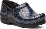 DANSKO Professional Silver/Blue Tooled