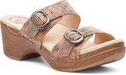 DANSKO Sophie Sand Stained Glass Leather