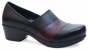 Dansko Tenley Black/Brown Nappa