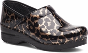 EXCLUSIVE - DANSKO Professional Brown Leopard Patent