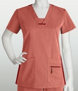 Grey's Anatomy<sup>TM</sup> Junior 3 Pocket V-Neck Top