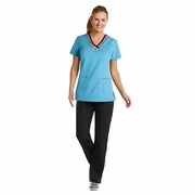 Grey's Anatomy<sup>TM</sup>  Active 41451 V-Neck Top