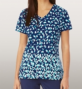 Grey's Anatomy<sup>TM</sup> 2138 Print Top - Cancun