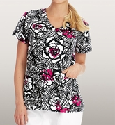 Grey's Anatomy<sup>TM</sup> 2138 Print Top - Leila
