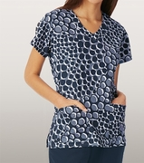 Grey's Anatomy<sup>TM</sup> 2138 Print Top - Shoreline