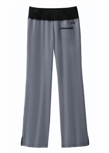 "Jockey's 2328 Ladies ""Yoga On the Go"" Pant in Pewter"