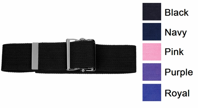 Prestige 621 Cotton Gait Belt with Metal Buckle