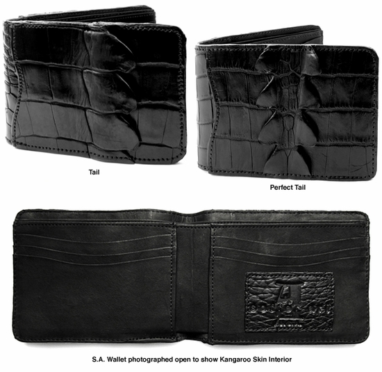 S.A. Crocodile Wallets