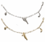 Small Link Forzatina Three Charm Bracelet