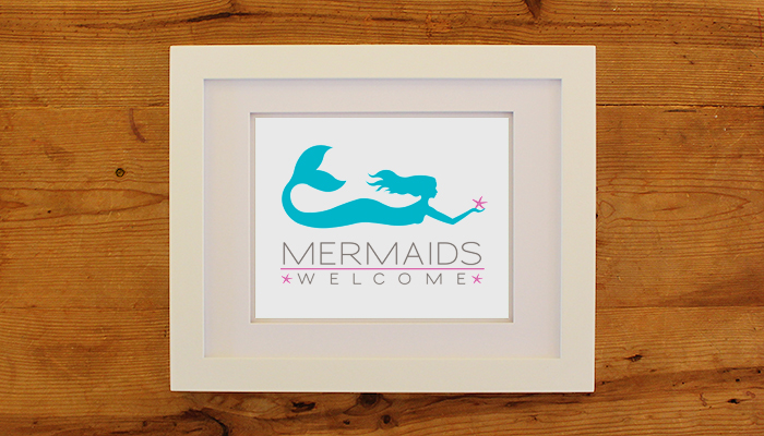 Mermaids Welcome