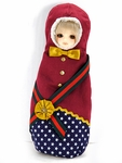 CHIBI Matryoshka Costume (Dark Red)