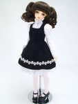 LP - SDG - Black Pinafore Dress Set