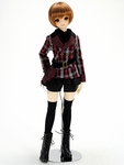 LPB - SD/SD13G/SDGrG - Wrap Skirt & Pants Set (Red Plaid)