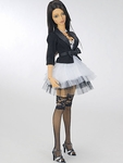 LPB - SD16G - Black and White Flower Dress Set