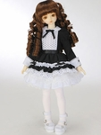 LPP - MSDG/SDCG/MDDG - Black Frilled Dress