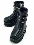 SB-SD-102 - Double-Belted Boots (Black)