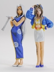 "SWSSP01-F01 ""Oh! My Goddess!"" Belldandy and Urd - Race Queen Version Figures"