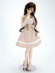 TnK - DDS/DD - Champagne Ribbon Dress Set