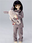 WRC MSD/SDC Pajamas and Bunny Plushy Set