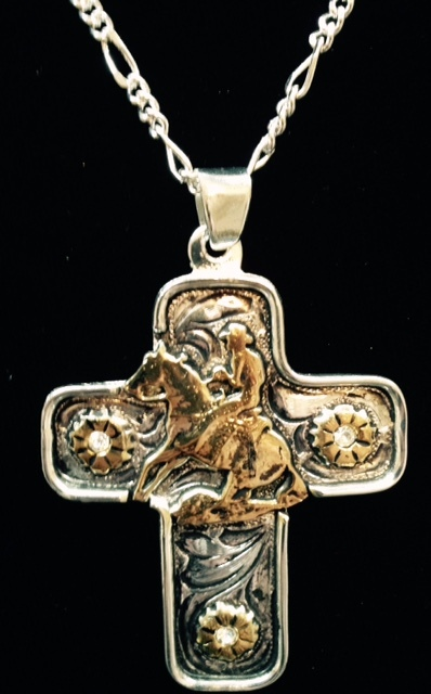 aasnk157r reiner western cross necklace