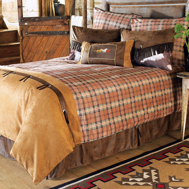 western bedding sets king