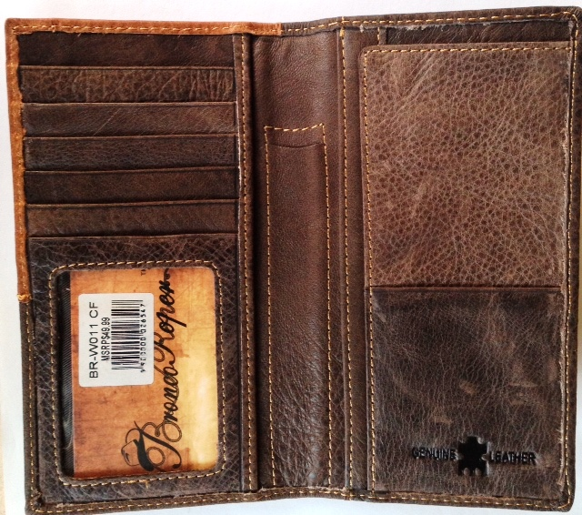 Mwbrw013cf Western Tooled Leather Rodeo Wallet Coffee