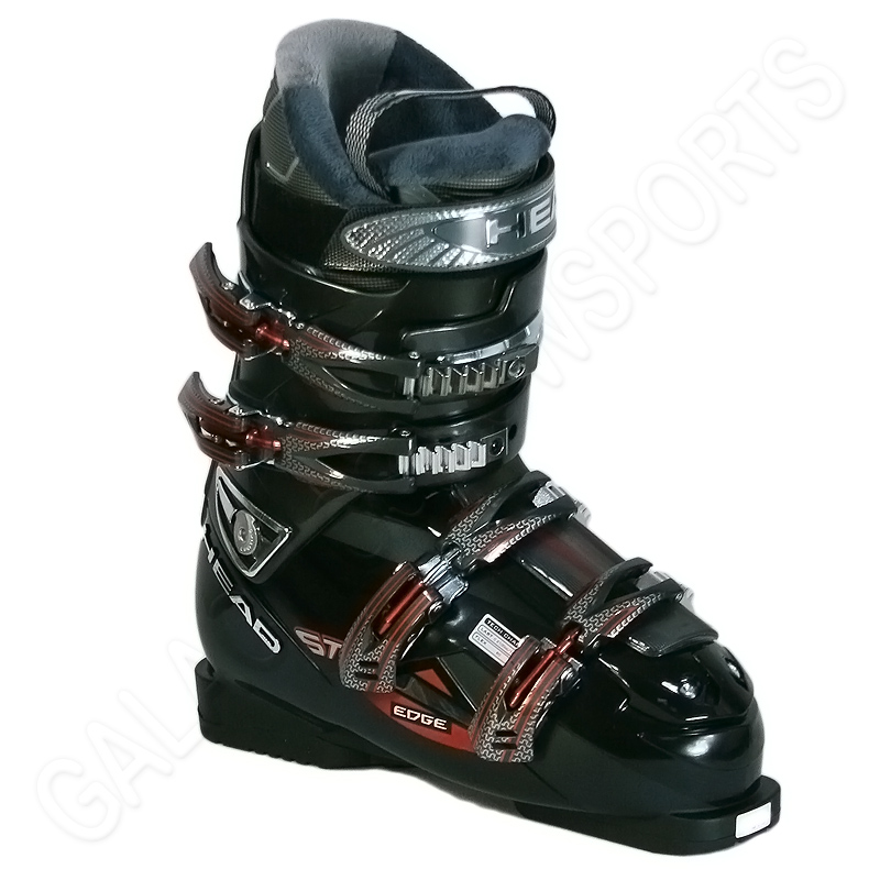 New 2011 Head Edge ST Ski Boots Black Anthracite