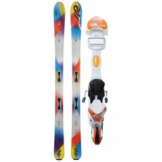 New 2013 K2 Superstitious Skis with Bindings