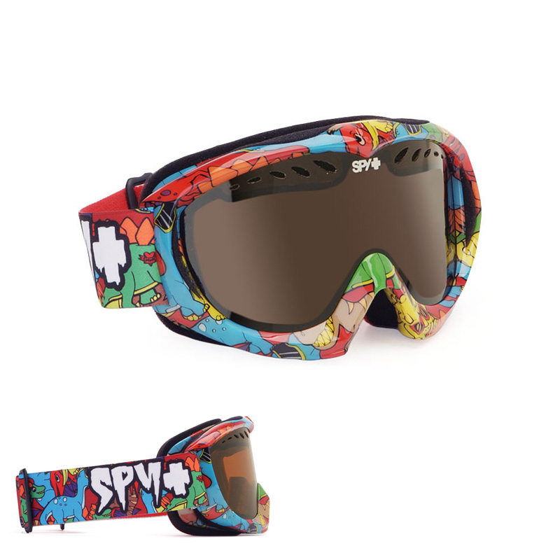 New 2013 Spy Targa Mini Goggles DINO JR BRONZE