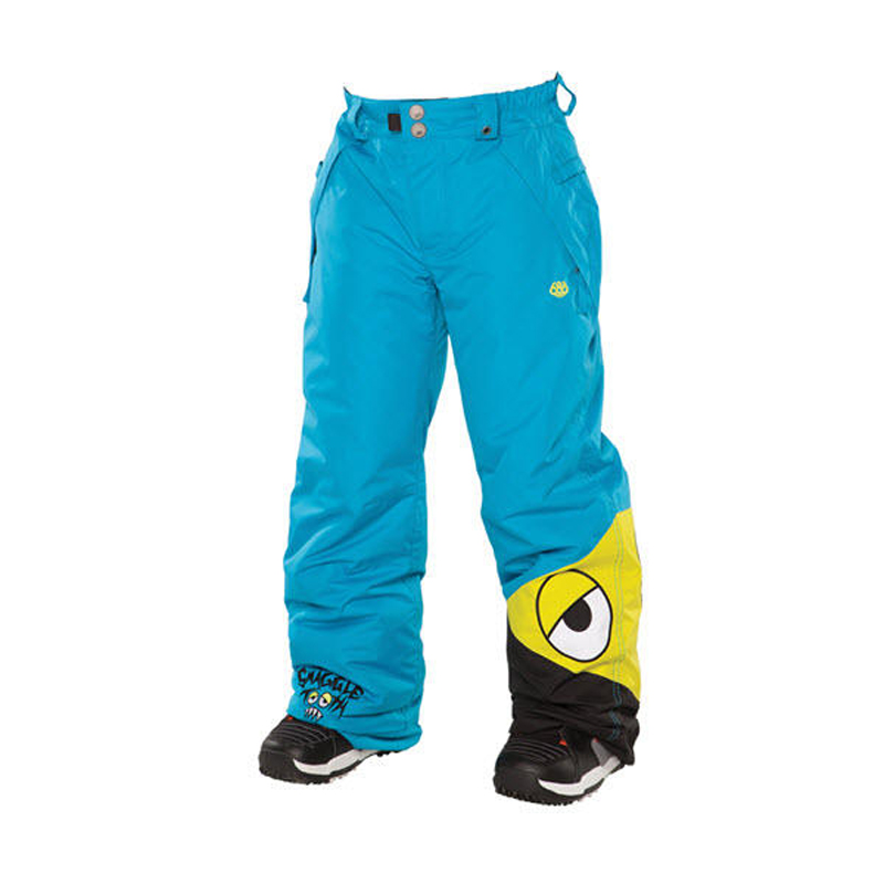 New 686 Boys Snaggle Insulated Pant Cyan