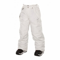 New 686 Girls Mannual Brandy Insulated Pant White