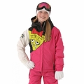 New 686 Girls Snaggle Sister Insulated Jacket Raspberry