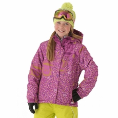 New 686 Paul Frank Girls Julius Pfunfetti Insulated Jacket