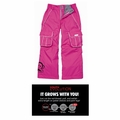 New 686 Paul Frank Julius Insulated Girls Ski Pants Pink