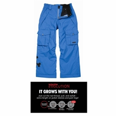 New 686 Paul Frank Skurvy Insulated Boys Ski Pants Blue